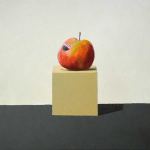 English Cox - 30cm x 30cm - Oil on board